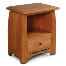 Aspen Nightstand with Opening and Inlay