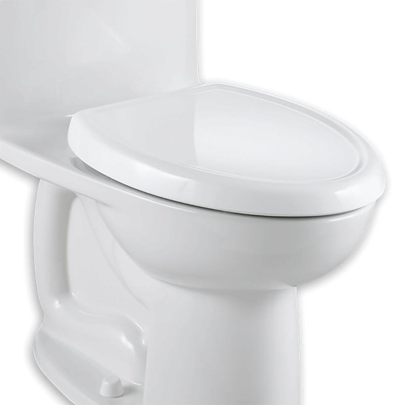 Cadet 3 Slow Close Round Front Toilet Seat With Everclean Bone