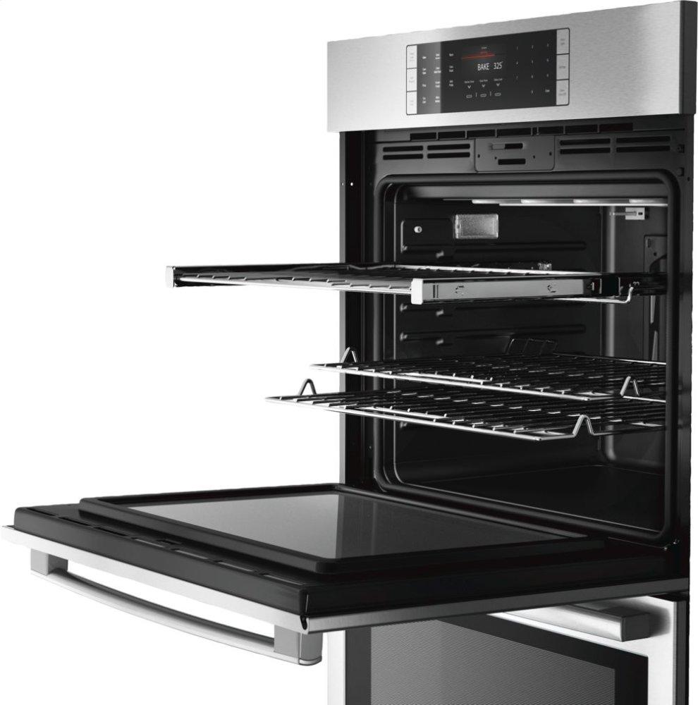 Bosch Benchmark Series 30 Double Wall Oven Ss Eu Conv