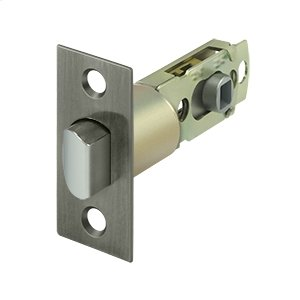 Square Latch Adj. Privacy/Passage - Antique Nickel