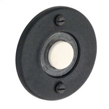 Distressed Oil-Rubbed Bronze Round Bell Button