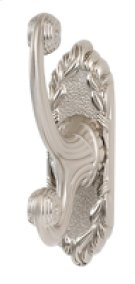 Ribbon & Reed Robe Hook A8599 - Polished Antique Product Image