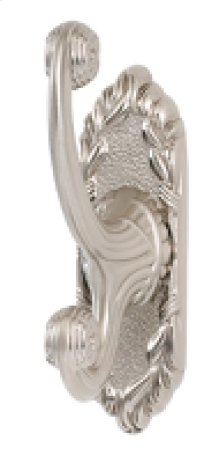 Ribbon & Reed Robe Hook A8599 - Polished Antique