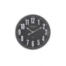 Clock 67x6 cm ROGERS brown