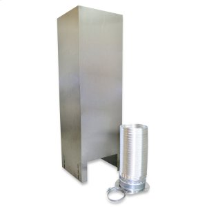 WhirlpoolIsland Hood Chimney Extension Kit (10-12ft) for vented hoods Stainless Steel