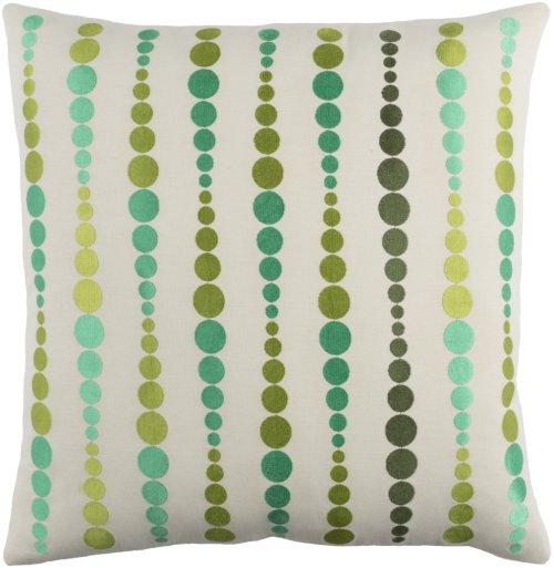 "Dewdrop DE-003 20"" x 20"" Pillow Shell with Polyester Insert"