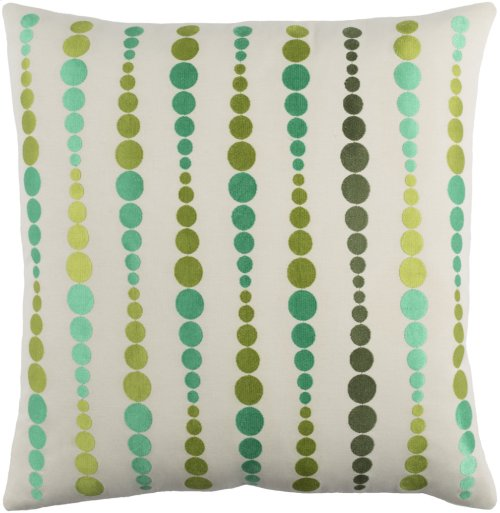 "Dewdrop DE-003 22"" x 22"" Pillow Shell with Polyester Insert"