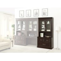 Stanford Two piece Lateral File and Hutch Product Image