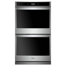Whirlpool® 10.0 cu. ft. Smart Double Wall Oven with True Convection Cooking - Fingerprint Resistant Stainless Steel