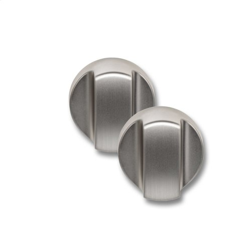 4 Slice Toaster Knobs - Brushed Stainless