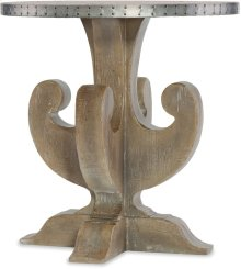 Boheme Lambik Round End Table
