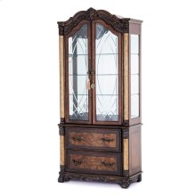 Display Cabinet W/lateral File Library Unit