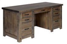 Hartley Bay Double Pedestal Executive Desk