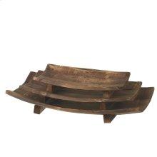 Arched Paneled Tray set/3.