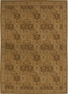 Hard To Find Sizes Grand Parterre Pt04 Gold Rectangle Rug 12' X 16'