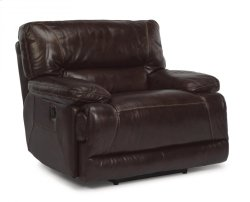 Fleet Street Leather Power Recliner Product Image