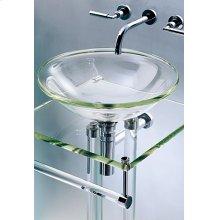 Glass Rod Pedestal