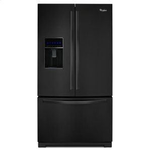 Whirlpool36-inch Wide French Door Refrigerator with MicroEdge(R) shelves - 25 cu. ft.