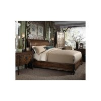 Sleigh Queen Bed Product Image