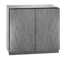 """Modular 3000 Series 36"""" Wine Captain® Model With Integrated Solid Finish and Double Doors Door Swing"""