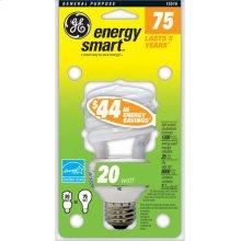GE 20 Watt Soft White Spiral®