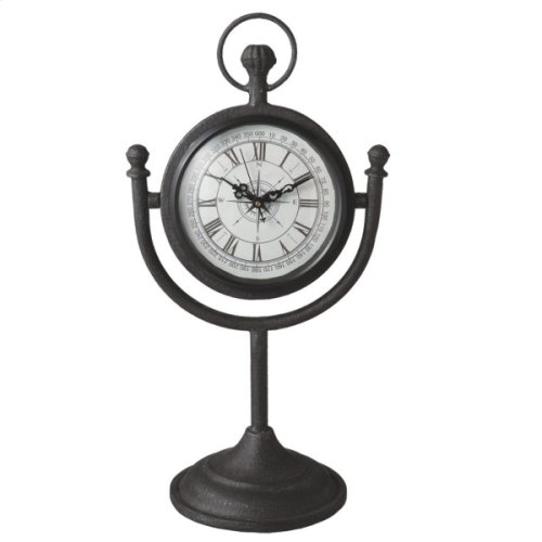 Compass Desk Clock