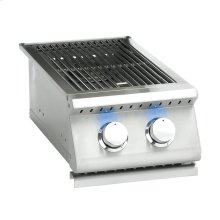 Sizzler Pro Series Double Side Burner w/ LED Illumination