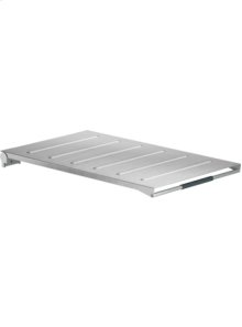 Brushed stainless steel appliance cover