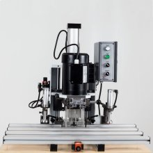 220 Volt Single Phase Hardware Resources Hinge Boring Machine 45 mm Hole Pattern Single Hand Operation
