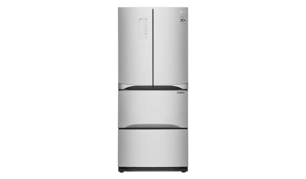 14.3 cu. ft. Kimchi/Specialty Food French Door Refrigerator  PLATINUM SILVER