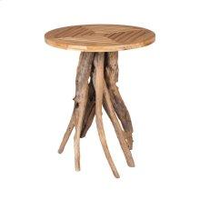 Teak Root Patio Table in Euro Teak Oil