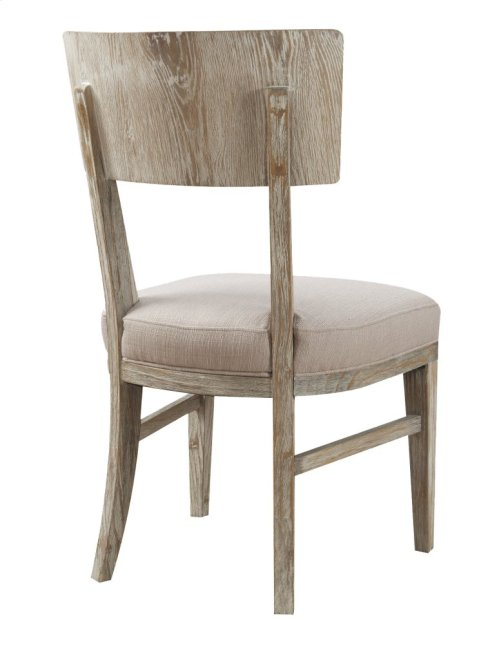Emerald Home Synchrony Side Chair Wood Back W/upholstered Seat Pearl D112-20