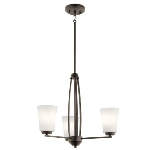 Tao 3 Light Chandelier Olde Bronze®