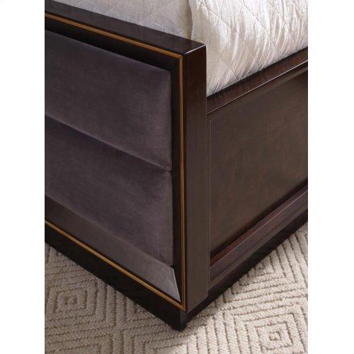 Smoked Peppercorn California King Panel Bed