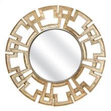 Calista Greek Key Frame Mirror