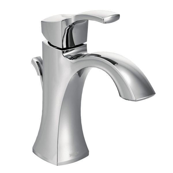 Voss Chrome One Handle Bathroom Faucet