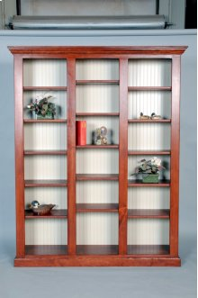 "#490-853 Library Unit 68""wx14.5""dx85""h Available in 85""h,72""h, and 48"" in 2 or 3 units."