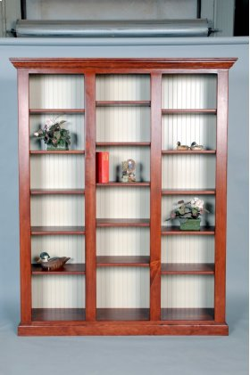 """#490-853 Library Unit 68""""wx14.5""""dx85""""h Available in 85""""h,72""""h, and 48"""" in 2 or 3 units."""
