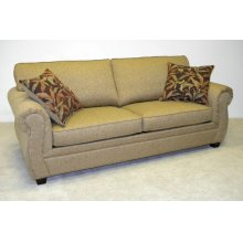Attached Pillow Back Transitional