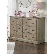 Fisher-Price Signature Double Dresser, Vintage Grey