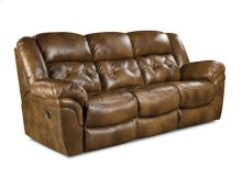 155-30-15  Double Reclining Sofa - Chaps Saddle - TOP GRAIN LEATHER
