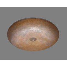 B1215 - Lavatory Hammertone Pattern - Antique Brass