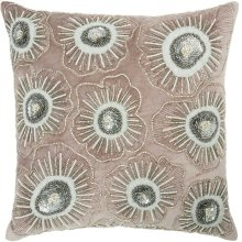 "Luminescence E1169 Nude 18"" X 18"" Throw Pillows"