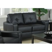 Jasmine Casual Black Loveseat Product Image