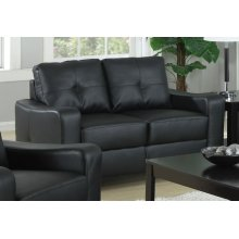Jasmine Casual Black Loveseat
