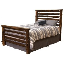 Modern Bed - Cal King - Modern Cedar