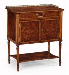 Mahogany Bedside Table for Brass Gallery