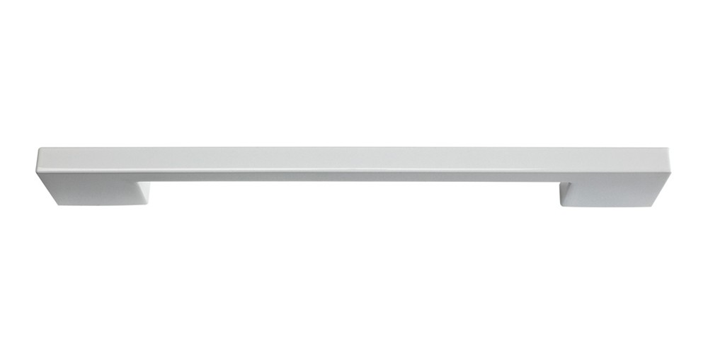 Thin Square Pull 7 9/16 Inch (c-c) - High White Gloss
