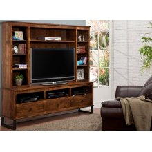 Cumberland HDTV Cabinet with Hutch 48'' TV Opening