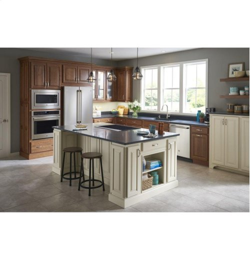 GREAT DEAL - SAVE BIG! -  DISCONTINUED GE Cafe™ Series ENERGY STAR® 23.1 Cu. Ft. Counter-Depth French-Door Refrigerator- BRAND NEW FLOOR MODEL / FULL WARRANTY